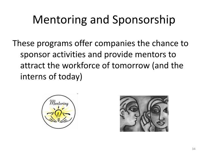 Mentoring and Sponsorship