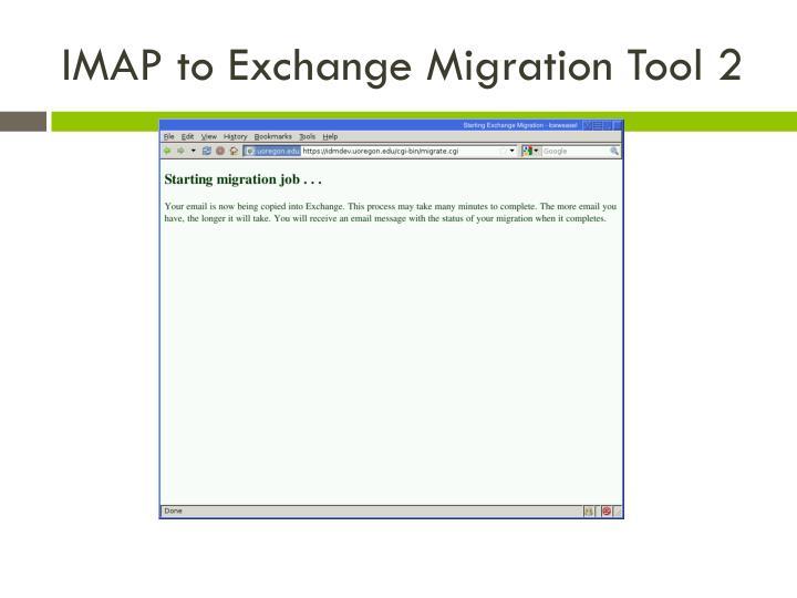 IMAP to Exchange Migration Tool 2