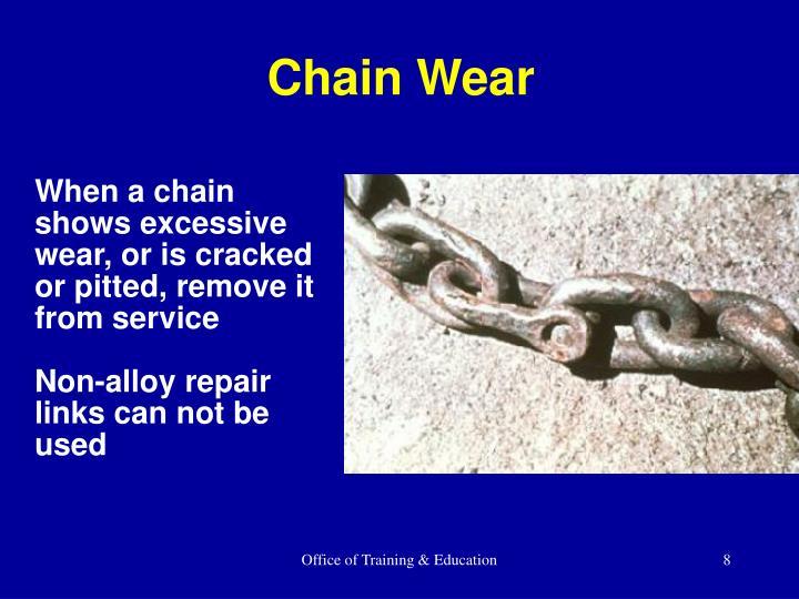 Chain Wear