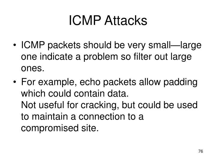 ICMP Attacks