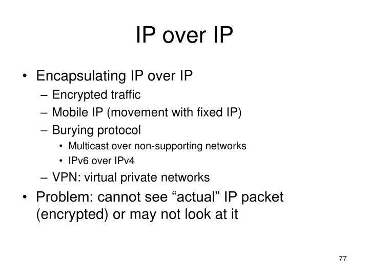 IP over IP