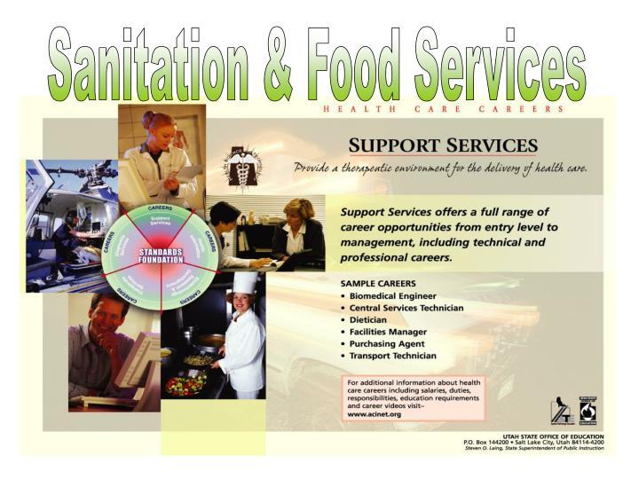 Sanitation & Food Services