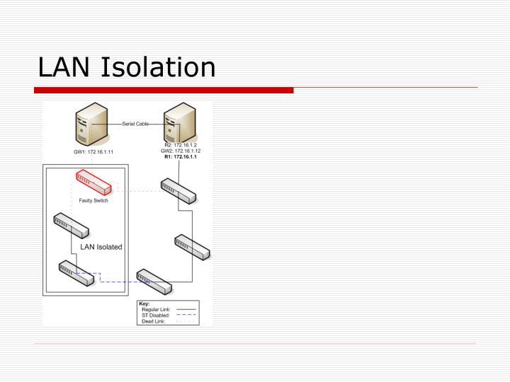 LAN Isolation