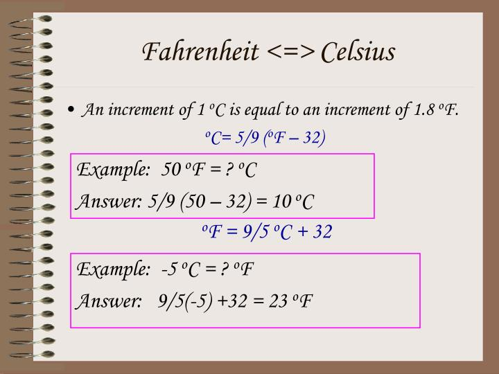 An increment of 1