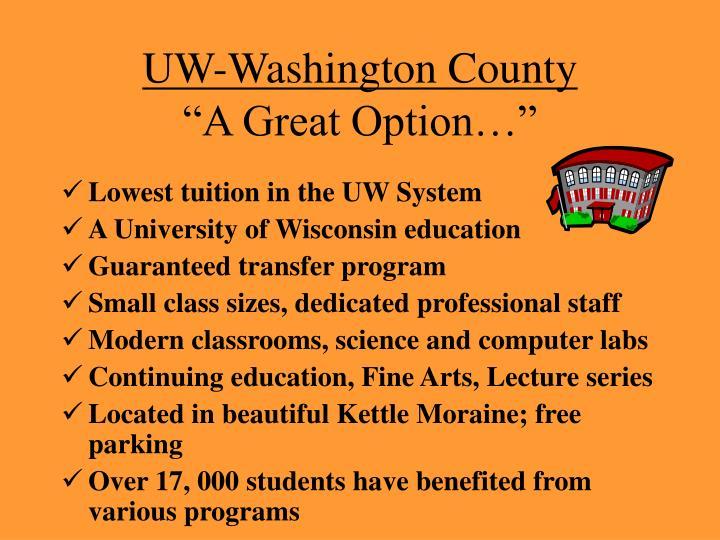 UW-Washington County
