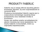 produkty faberlic
