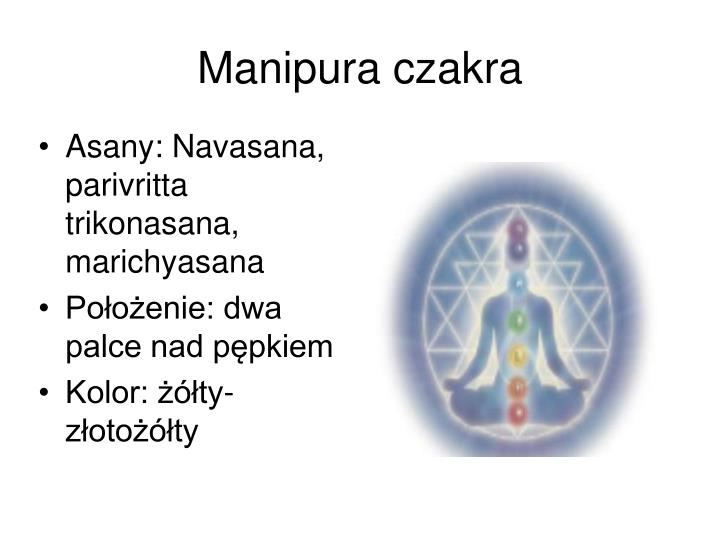 Manipura czakra