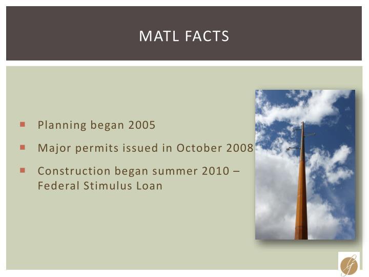 MATL Facts