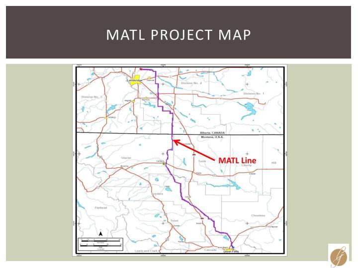 MATL Project Map