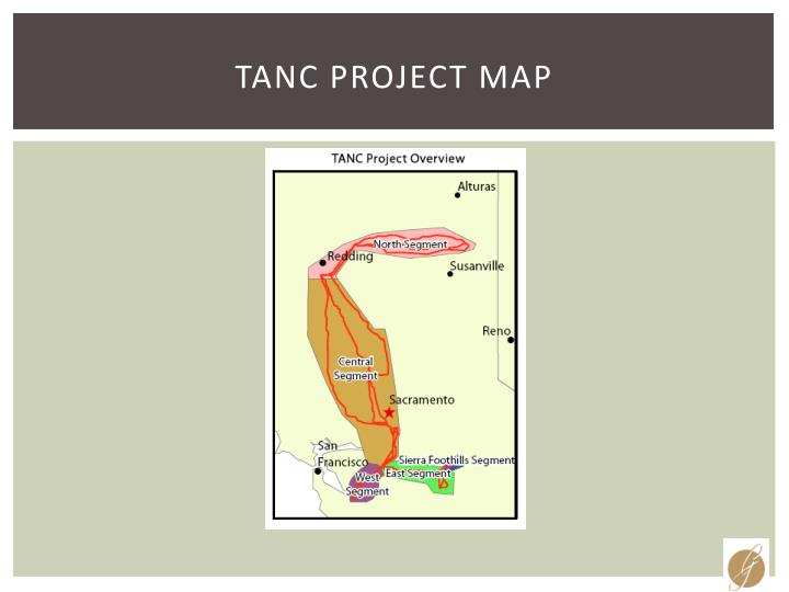TANC Project Map