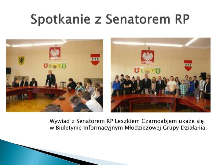Spotkanie z Senatorem RP