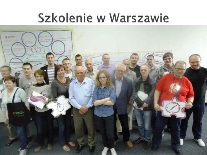 Szkolenie w Warszawie