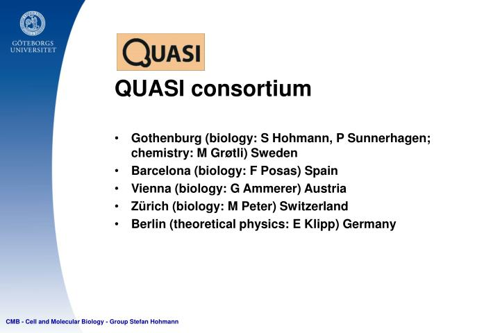 QUASI consortium