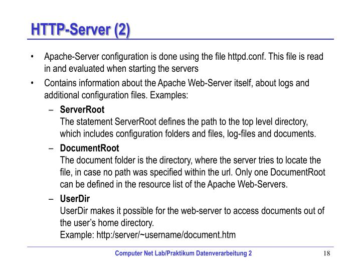 HTTP-Server (2)