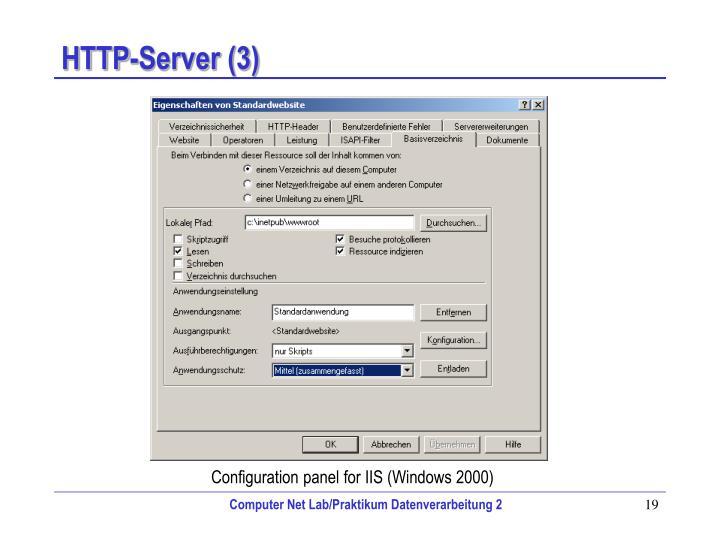 HTTP-Server (3)