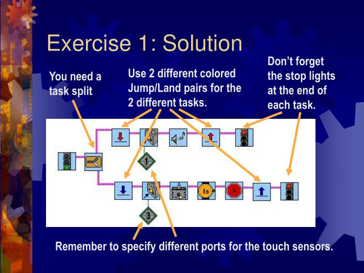 Exercise 1 solution