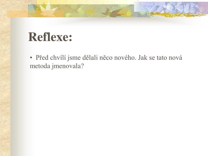 Reflexe: