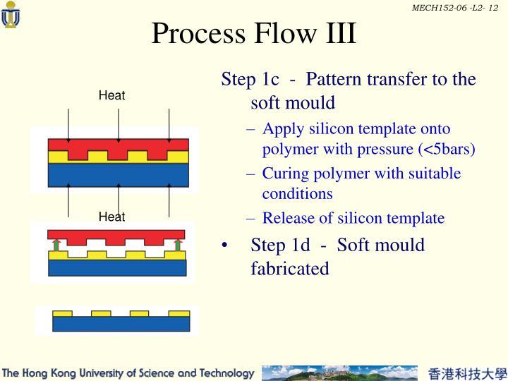 Process Flow III