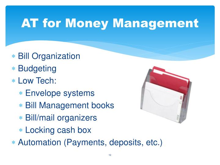 AT for Money Management