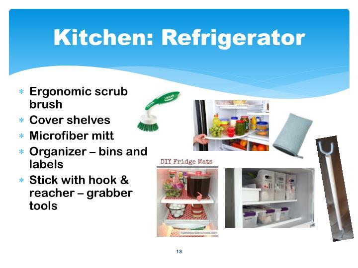 Kitchen: Refrigerator