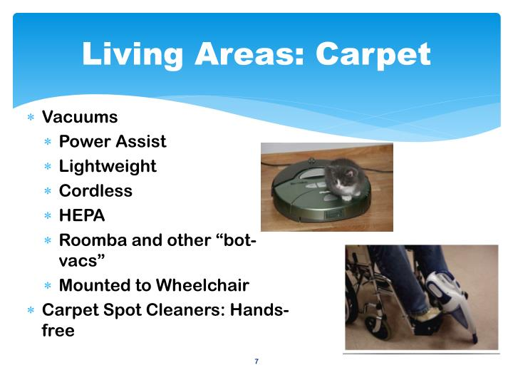 Living Areas: Carpet