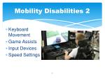 mobility disabilities 2