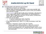 analisi attivit lay sit stand1