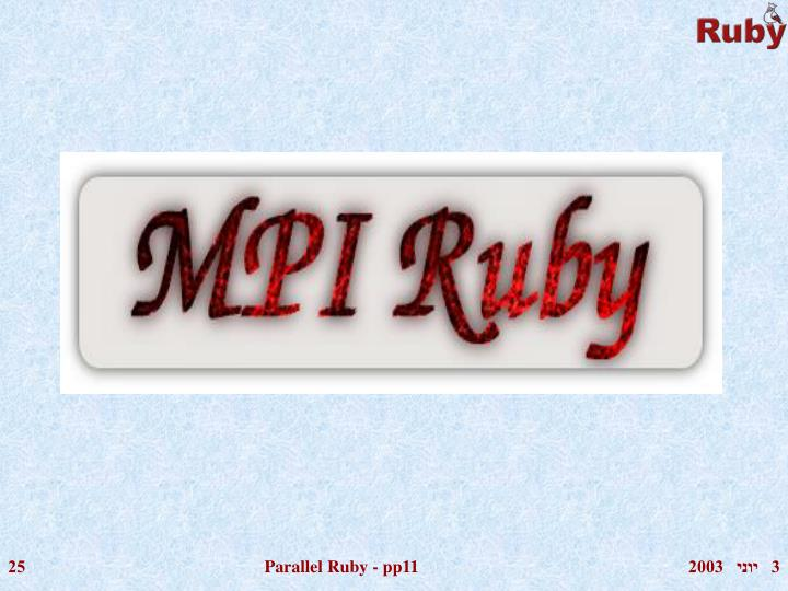 Parallel Ruby - pp11