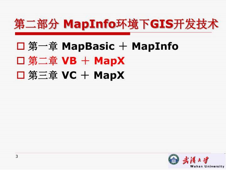 Mapinfo gis