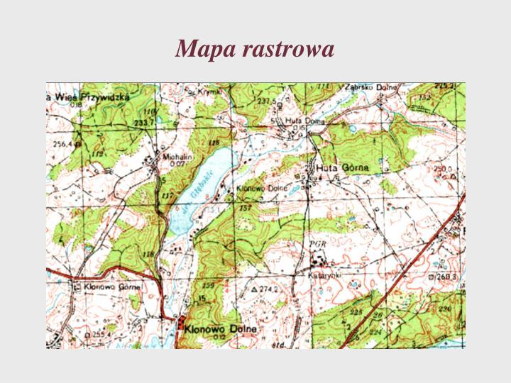 Mapa rastrowa