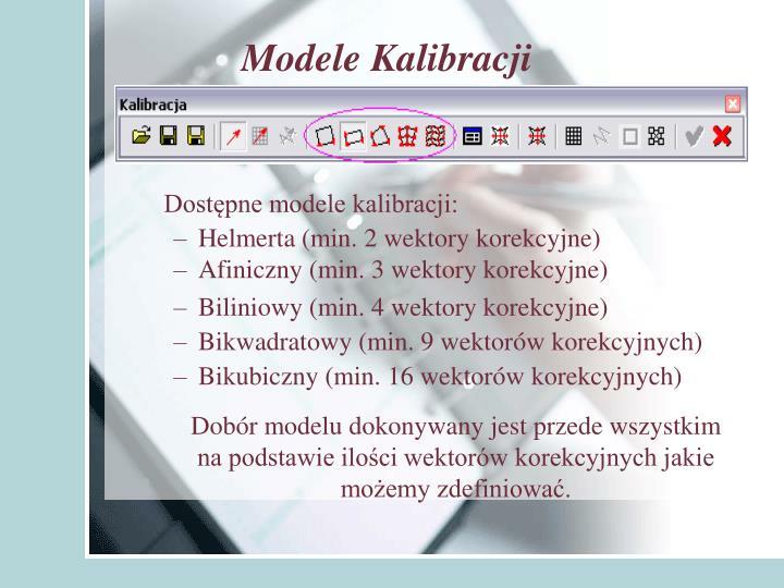 Modele Kalibracji