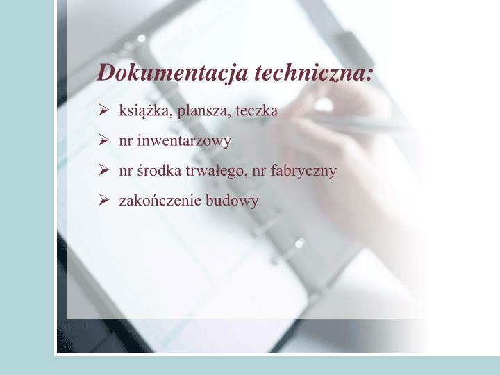 Dokumentacja techniczna: