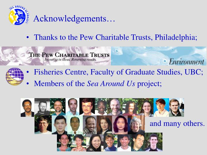 Acknowledgements…