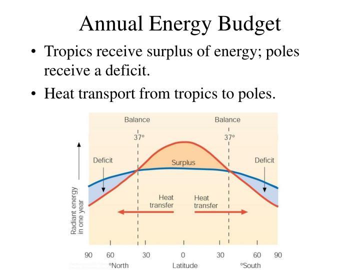 Annual Energy Budget