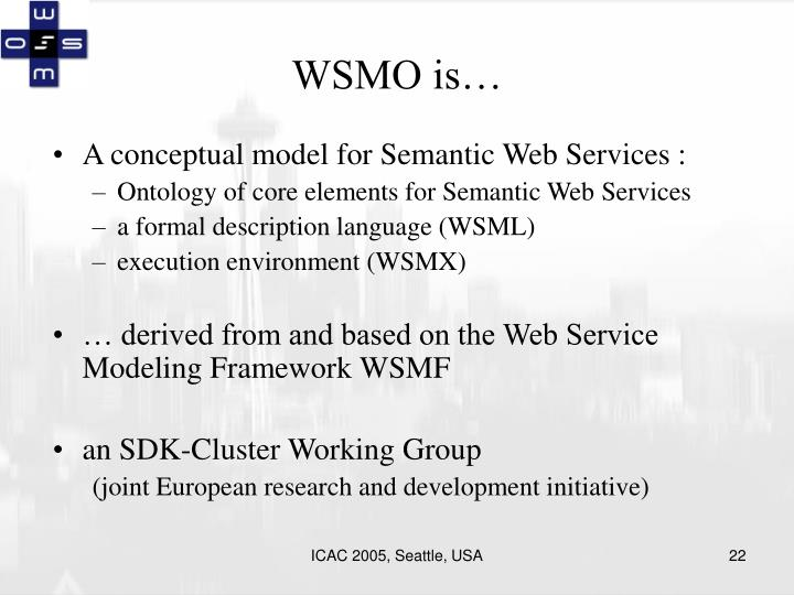 WSMO is…