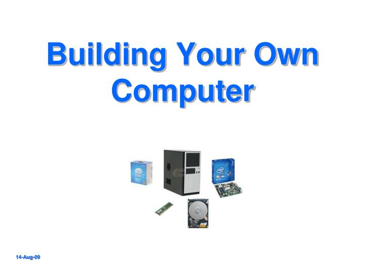 Building your own computer