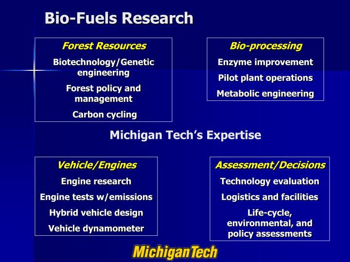 Bio-Fuels Research