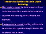 industrial emission and open burning1