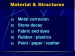 material structures