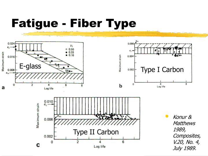Fatigue - Fiber Type