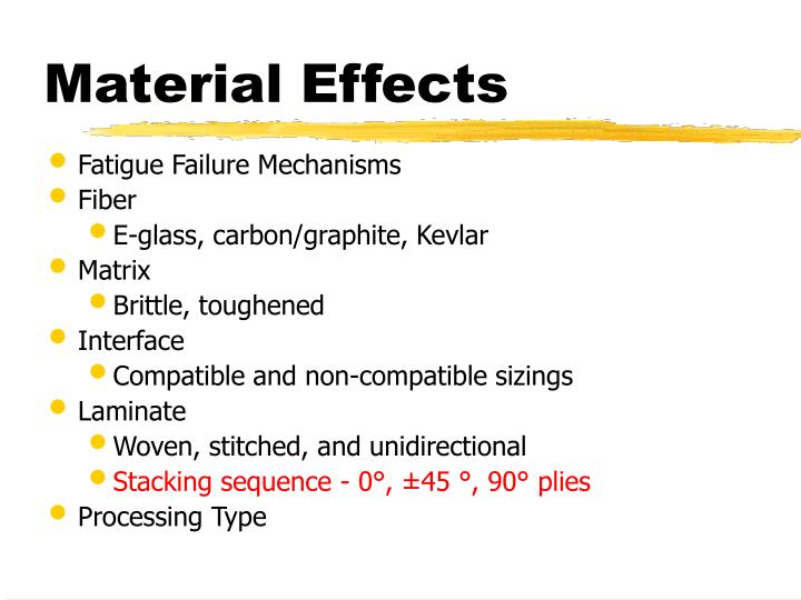 Material Effects