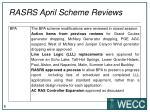 rasrs april scheme reviews3