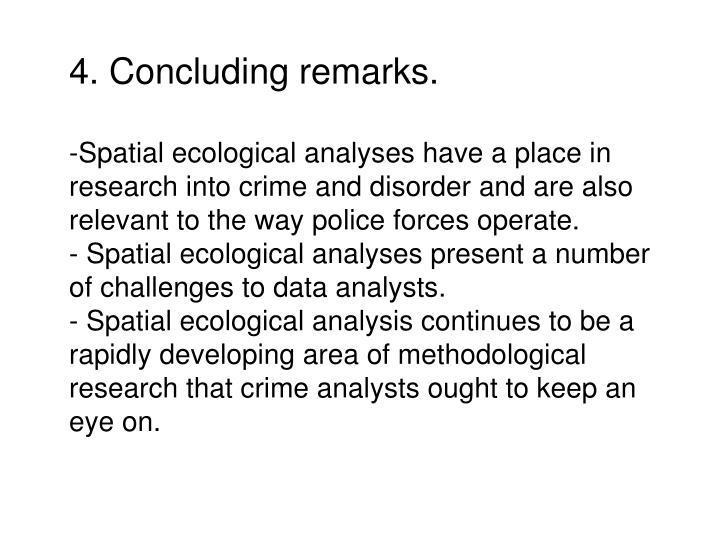4. Concluding remarks.