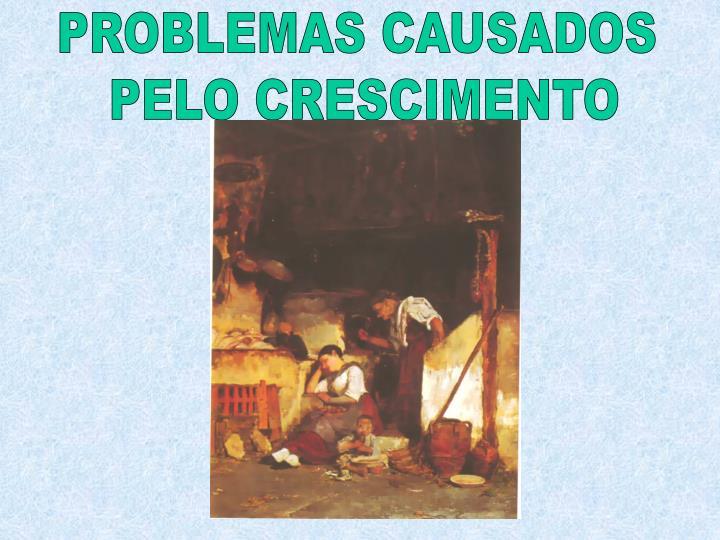 PROBLEMAS CAUSADOS