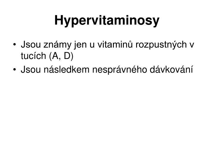 Hypervitaminosy