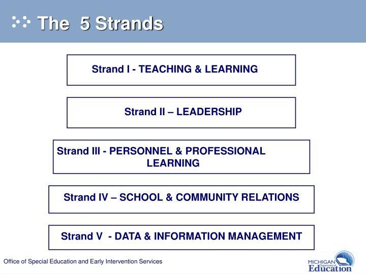 Strand II – LEADERSHIP