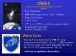 crres combined release and radiation effects satellite crres