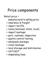 price components