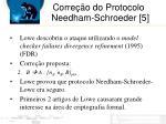 corre o do protocolo needham schroeder 5