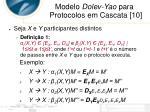 modelo dolev yao para protocolos em cascata 103